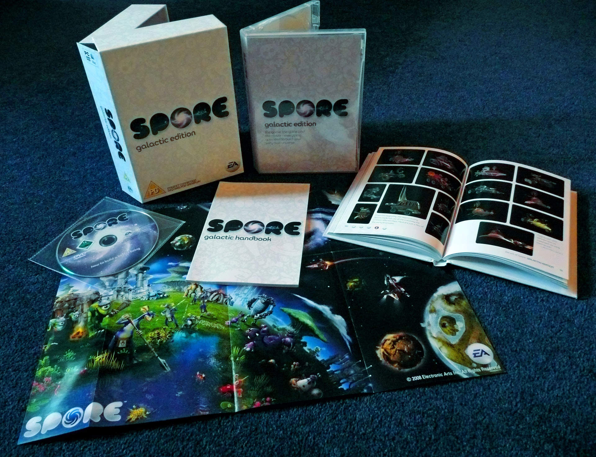 Spore videogame — questions for 2020