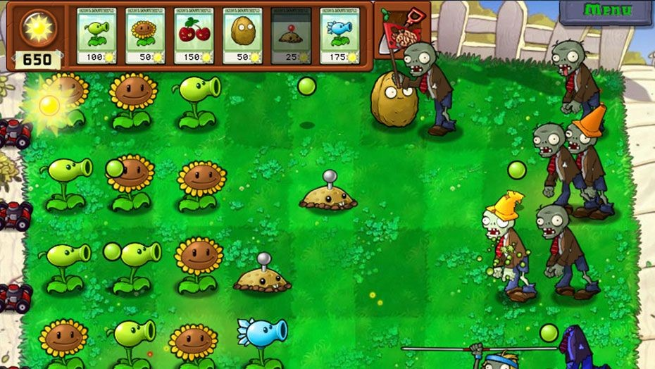 Picture of Plants Vs Zombies Game